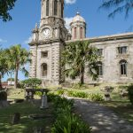 Some of Antigua's many picturesque churches