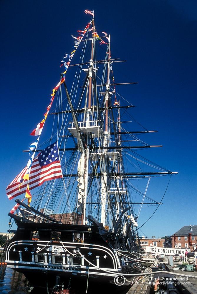 USS Constitution, Charleston Navy Yard, Boston, Massachusetts