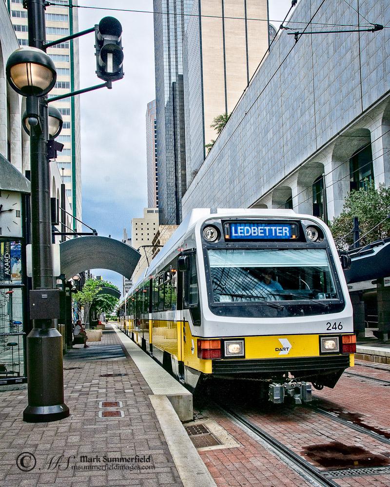 Light Rails: Dallas Area Rapid Transit Light Rail