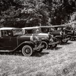 Four Model A Fords