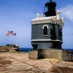 Lighthouse at Castillo de San Felipe del Morro