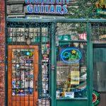 Emerald City Guitars Shop Front