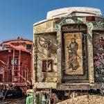 Rail Car Graffiti