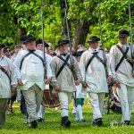 Williamsburg Militia Company March on the Governor's Palace