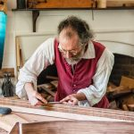 Colonial Williamsburg Harpsichord Maker