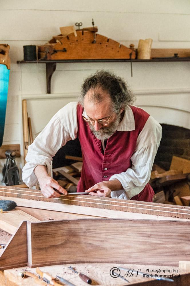 Colonial Williamsburg Harpsichord Maker