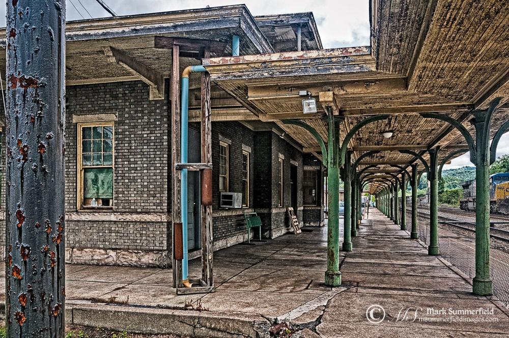 C&O Railroad Depot at Ronceverte