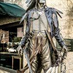Navajo Brave Statue