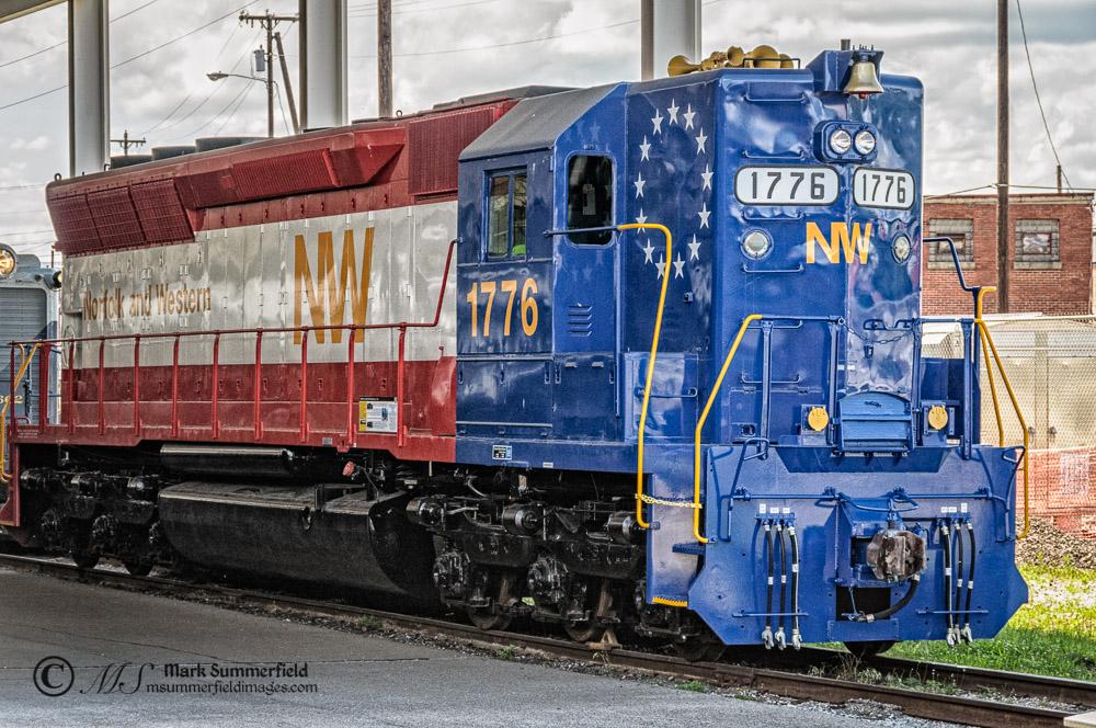 Norfolk & Western SD-45 Number 1776