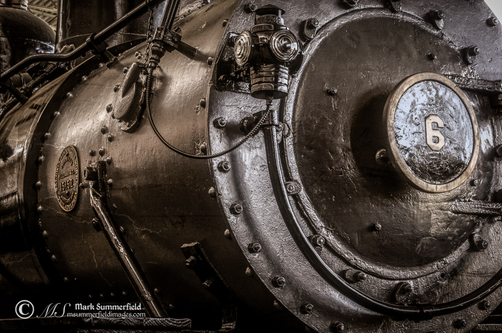 Consolidation Steam Locomotive