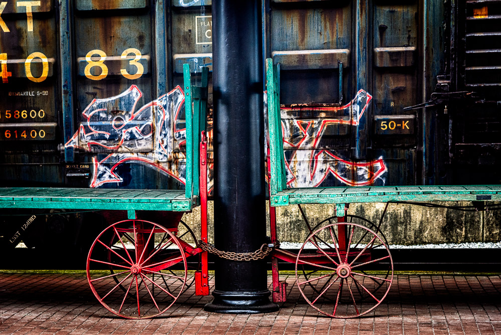 Railroad Baggage Carts