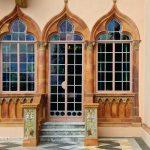 Venetian Gothic Architectural Details of Ca' d'Zan Mansion