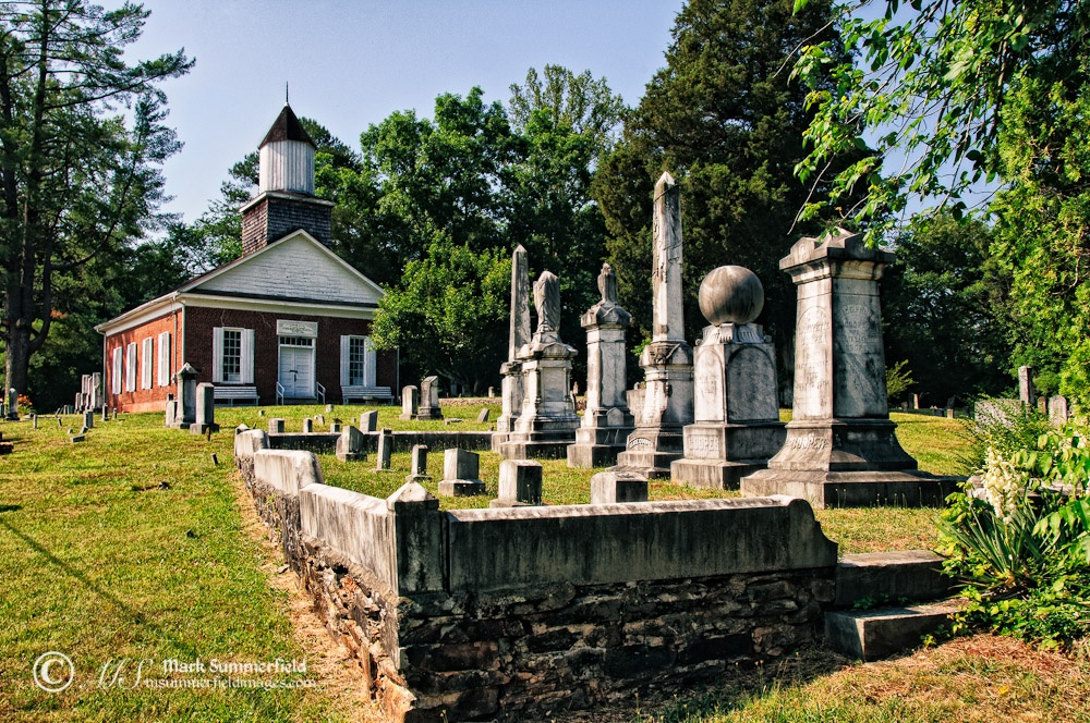 Harshaw Chapel and Cemetery