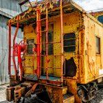 Rusty Union Pacific Caboose