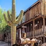 Goldfield Ghost Town Tractor