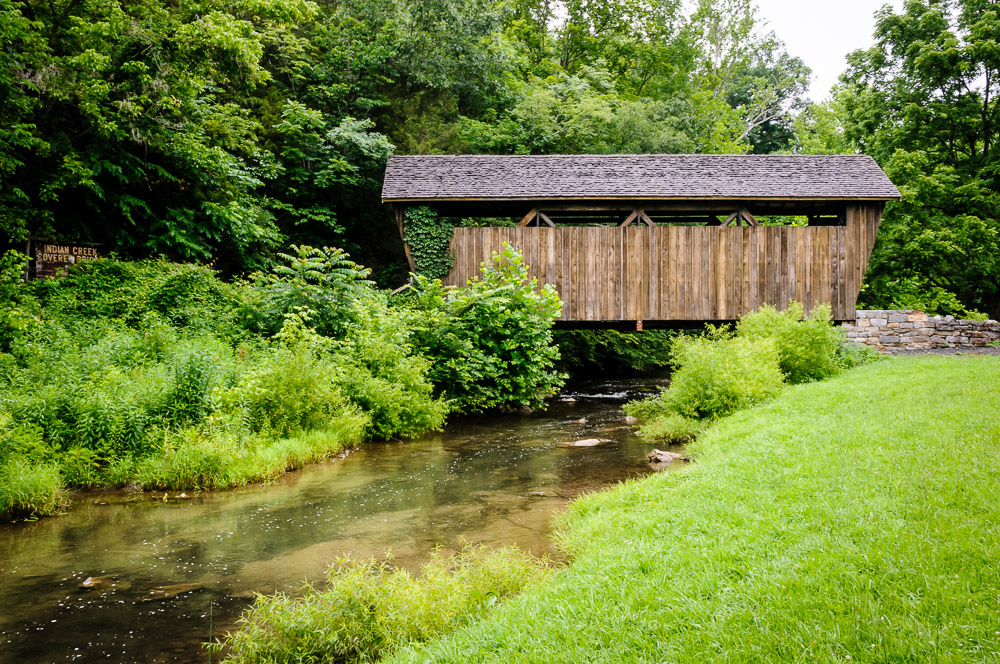 Indian Creek Covered Bridge