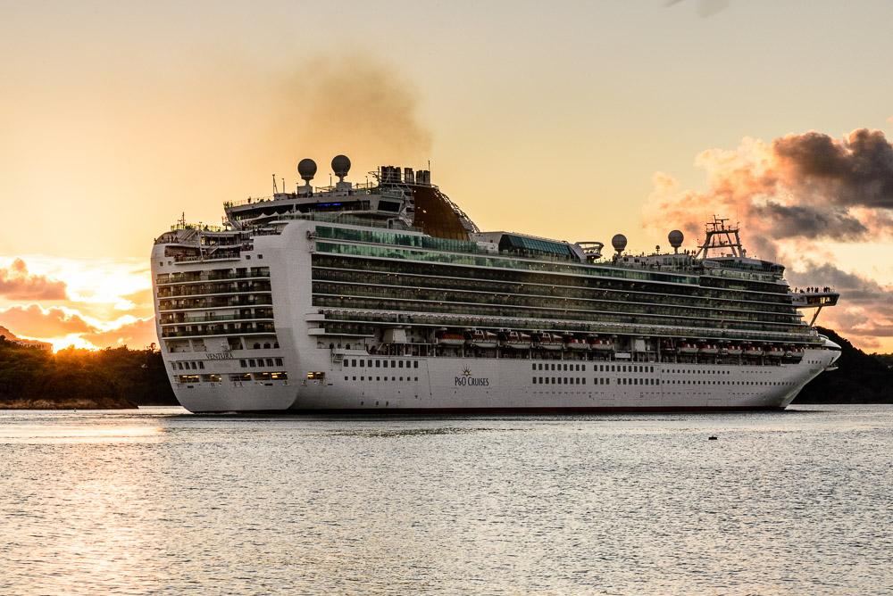 Cruise Ship St. John's Harbour