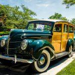 Old Town Fairfax Antique Car Show