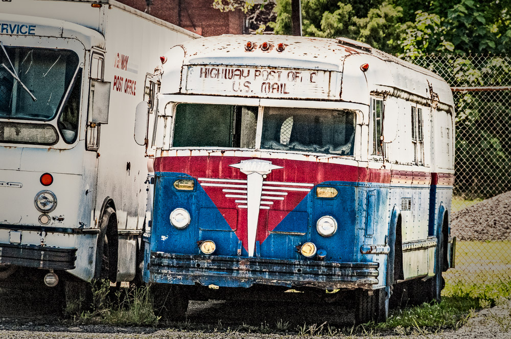 Highway Post Office Bus
