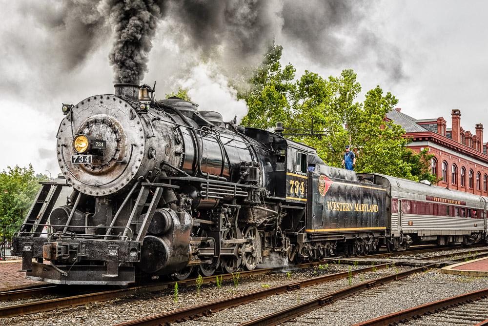 Baldwin Consolidation 2-8-0 Locomotive