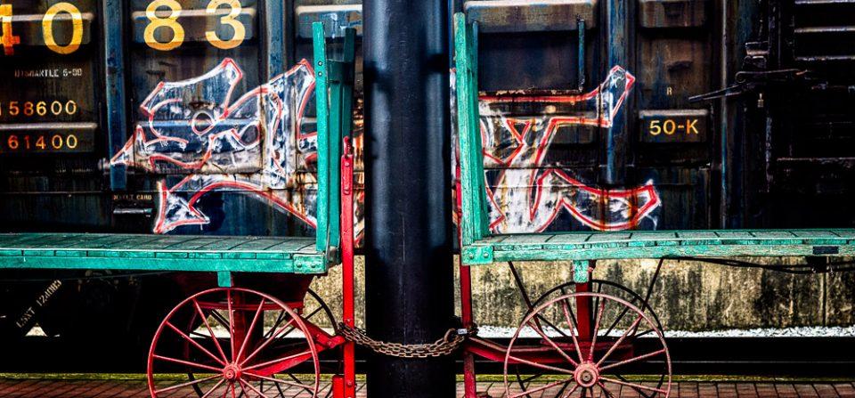 Railroad Baggage Carts